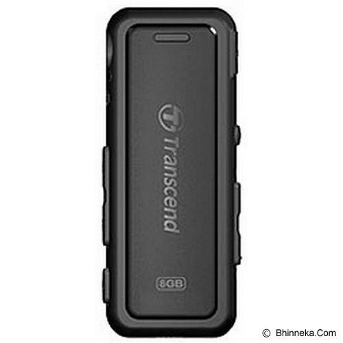 TRANSCEND MP3 Player 8GB MP330 [TS8GMP330K] - Black - Mp3 Players